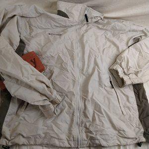 Columbia Nylon Windbreaker Jacket Mens Size XL
